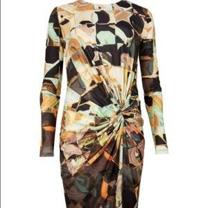 Ted Baker Tabbi Retro Print Dress Sz 2